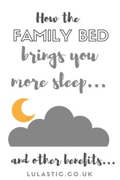 The Family Bed gets you more sleep (and other benefits) - Lulastic and the Hippyshake