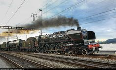 RailPictures.Net Photo: 241 A 65, 241 P 17 Untitled 241 A, 241 P at Stein-Säckingen, Switzerland by Georg Trüb