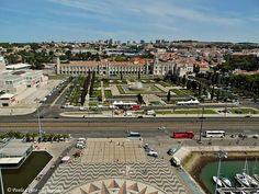 No Padrão dos Descobrimentos - Lisboa - PORTUGAL Cortesia Maria de Lourdes Barbosa