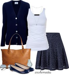 """Navy Blue"" by archimedes16 ❤ liked on Polyvore"