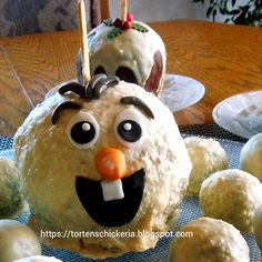 frozen olaf caramel apple