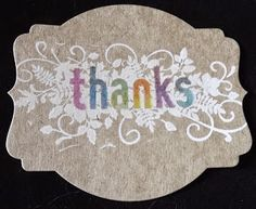 Spectrum Noir Pencils and Stampin' Up! Seasonally Scattered stamp set.