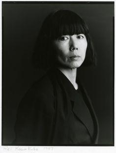 #icon #Rei #Kawakubo fashion designer of Comme des Garcons label, Japan