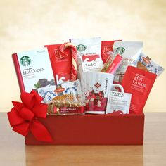 Have to have it. Starbucks Happy Holidays Gift Box $49.99