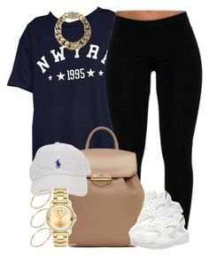 """""""Simple Fit."""" by livelifefreelyy ❤ liked on Polyvore featuring Alexander Wang, NIKE, AllSaints, Movado and ASOS"""
