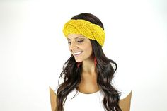 Braided Crochet head wrap boho headwrap by TheRitzBoutique on Etsy, $12.99