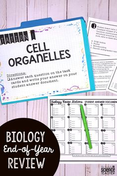 Need an engaging, end of the year, review for your Biology course? Look no further! These BIOLOGY REVIEW STATIONS are perfect for busy teachers that need a ready-to-go activity to review for end of course tests. Stations are great for students and teachers- they are engaging, student directed, and my students say that this activity offers them the BEST review for their Biology end of course assessment! This resource comes in both a print and digital format.