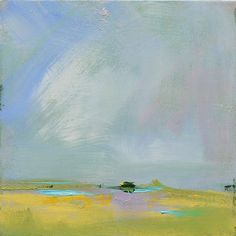 "New Contemporary Abstract Landscape Painting by Jacquie Gouveia on Etsy, $190.00 ""Kodachrome""                                                                                                                                                                                 More"