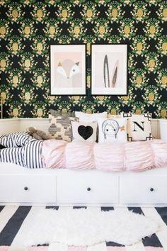 HABITACIONES NIÑA | Ideas y fotos de habitaciones de niña decoradas con las últimas tendencias y novedades en 2017. Los dormitorios de niña más originales.