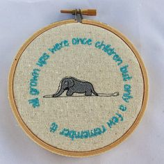 Le Petit Prince quote. The Little Prince Embroidery by BABYTEMBO