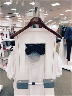 The Clothes Hanger upper portion is branded Ralph Lauren, but it is the bottom half of the fixture which puzzles… Clothes Hanger, Mystery, Polo Ralph Lauren, Retail, Home Decor, Coat Hanger, Decoration Home, Room Decor, Clothes Hangers