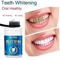 Teeth Whitening Natural Pearl Tooth Brushing Powder Physical Teeth Whitener Detoxifying & Whitening Oralh Dental Oral Hygiene