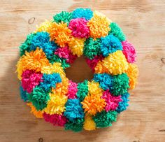 Let's make... a pompom wreath | Kiddicare Blog