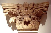 Corinthian order - Figure of the Buddha, within a Corinthian capital, Gandhara, century, Musee Guimet. Religious Architecture, Art And Architecture, Corinthian Order, Corinthian Columns, History Of Buddhism, Ancient History, Theravada Buddhism, Hellenistic Period, Sculptures