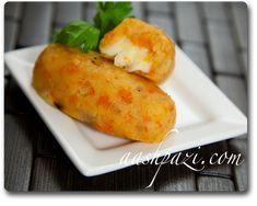 Potato Mozzarella Sticks