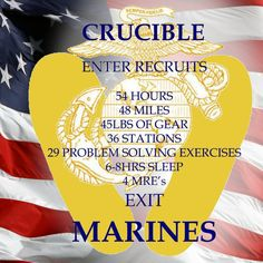 CRUCIBLE ITEMS W/EGA &YELLOW FOOTPRINTS ... Marine Mom Quotes, Marine Corps Quotes, Usmc Quotes, The Crucible Marines, Marines Boot Camp, Parris Island, Military Mom, Military Honors, My Marine