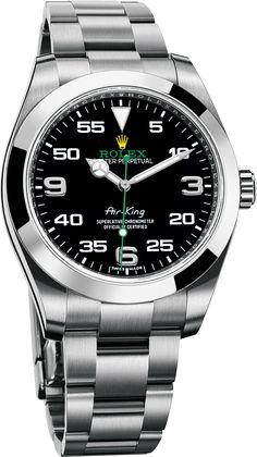 La Cote des Montres : La montre Rolex Oyster Perpetual Air-King - L'héritage…