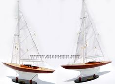 MODEL YACHT DRAGON - Model is hand-crafted from hard wood with planks on frame construction and the hull is lacquered and painted like the real boat.