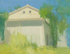 The Farm House Again, Late Summer, Strong Sun, stuart shils