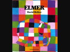 This is a read-aloud of the children's book Elmer, written by David McKee. In this story, Elmer the patchwork elephant makes himself gray with berry juice; Good Books, Books To Read, My Books, Library Lessons, Art Lessons, Children's Library, Online Library, Bible Lessons, Books Online