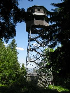 rozhledna Panorama, Kabátice, Czechia European Countries, Treehouse, Czech Republic, Utility Pole, Tower, Cabin, Building, Travel, Bohemia