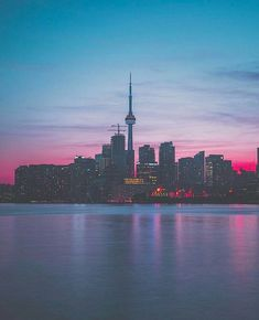 *Toronto, Ontario* Beautiful Landscape view of my home city Toronto Skyline, Toronto City, Downtown Toronto, Seattle Skyline, Toronto Ontario Canada, Toronto Photography, Worldwide Travel, Night City, Travel Aesthetic