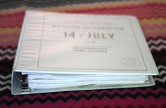 How to make a wedding binder - 5 easy steps to SUPREME organization!!!