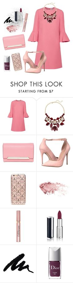 """I Could Use a Love Song"" by classicgirl12 ❤ liked on Polyvore featuring Valentino, INC International Concepts, Christian Louboutin, ALDO, Forever 21, L'Oréal Paris, Givenchy, Christian Dior, dressy and Pink"