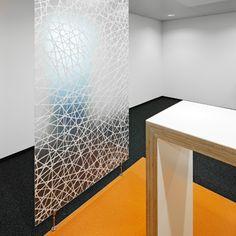 Full Circle - Connection  #design #organics #partitions #walls #fibers #materials