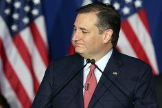 O senador pelo Texas Ted Cruz anuncia sua saída da corrida pela candidatura republicana à Casa Branca