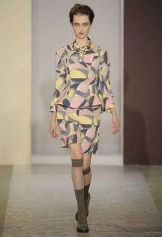 The Marni Fall 2010 Designs Brings Back the 70s trendhunter.com