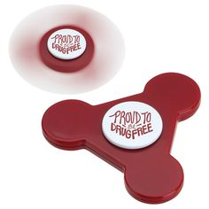 Red Ribbon Spinner - Perfect for youth who want to fidget and for you to help them stand up against drugs Red Ribbon Week, Drug Free, Our Kids, Drugs, Youth, Young Adults, Teenagers