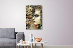 Cyber Girl,abstrakt