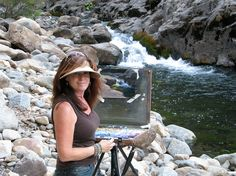 Awesome resource > Plein Air Setups for Pastels, from Pastel Journal and ArtistsNetwork.com. #pastel #art #pleinair