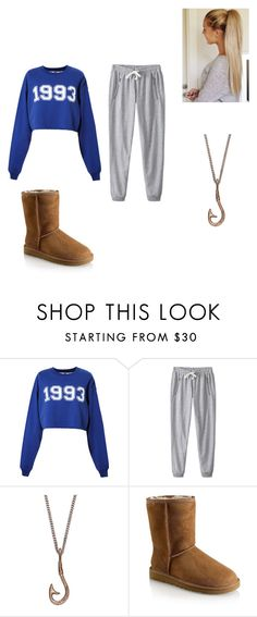 """""""Untitled #95"""" by koorbusche ❤ liked on Polyvore featuring MSGM, We Are All Smith and UGG Australia"""