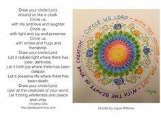 Meditation Monday - Draw Your Circle Around Me Lord