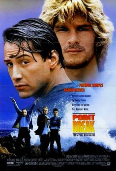 I met Keanu Reeves while he was filming Point Break in Wheeler, Oregon.