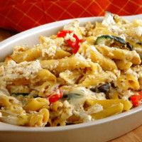 Cheap family meals: Recipes under per head - Courgette bacon and chilli pasta bake - goodtoknow Cheap Family Meals, Healthy Family Meals, Cheap Dinners, Baked Dinner Recipes, Baked Pasta Recipes, Vegetarian Pasta Recipes, Healthy Recipes, Bacon Pasta, Pasta Bake