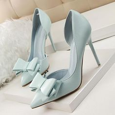 NEW Women's Pumps Wedding Slim High Heel Pointed Toe Stiletto Party Heels Shoes from Eoooh❣❣ - Shoes - Damenschuhe High Heel Pumps, Women's Pumps, Stiletto Heels, Strappy Shoes, Women's Heels, High Shoes, Platform Pumps, Flat Shoes, Shoes Sneakers
