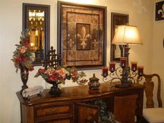 Tuscan decor – Mediterranean Home Decor Traditional Decor, Traditional House, Tuscan Decorating, Interior Decorating, Decorating Ideas, Decor Ideas, Interior Design Living Room, Living Room Decor, Living Rooms