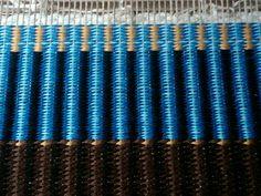 Krokbragd patterned rug