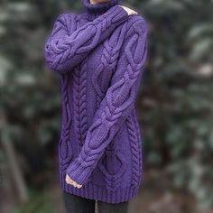 Свитер доступен к заказу в любом цвете #knittedsweater #knittinginspiration #knitwear #knittingaddict #i_loveknitting