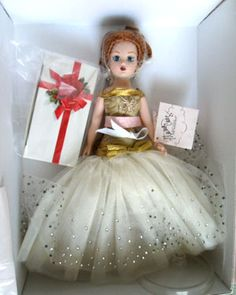 """Golden New Year Coquette Cissy"" 10"" Madame Alexander Doll"