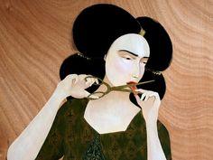 Collection XVIII: The art of Hayv Kahraman (born Baghdad, Iraq 1981) |