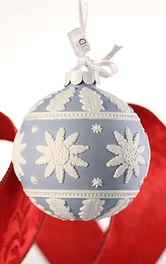 Wedgwood Neoclassical Ball Ornament