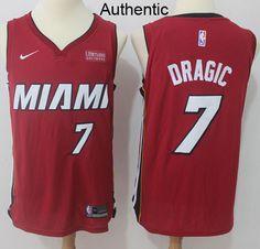 Nike Heat  7 Goran Dragic Red NBA Authentic Statement Edition Jersey f44e4eeda