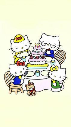 Hello Kitty Pictures, Kitty Images, Sanrio Characters, Fictional Characters, Hello Kitty Backgrounds, Hello Kitty Nails, Red Nail Designs, Stiletto Nail Art, Japanese Nail Art
