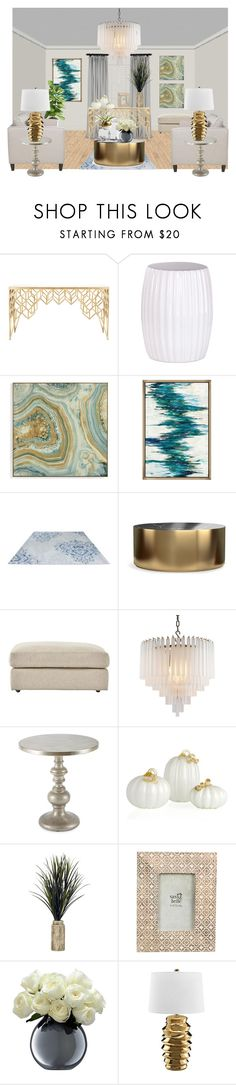 """Untitled #120"" by ney-george ❤ liked on Polyvore featuring interior, interiors, interior design, home, home decor, interior decorating, Safavieh, Grandin Road, Williams-Sonoma and Home Decorators Collection"