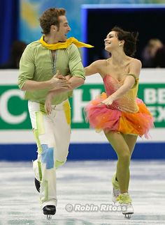 Nathalie Pechalat & Fabian Bourzat (FRA). My favorite ice dancing couple! Surely I will miss them after this emotional and heartwarming free dance in Olympics. To me they're much wonderful than the medals can measure.