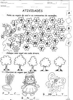 Ensinando com Carinho: Atividade de Português 1º ano